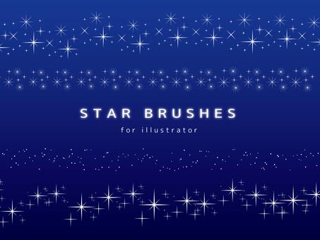 Star brush set