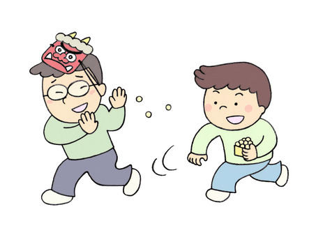 Setsubun (bean maki)