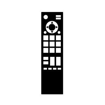 Remote control silhouette