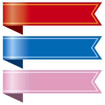 Bookmark of ribbon 4