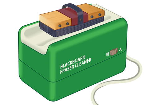 Blackboard eraser & blackboard eraser cleaner