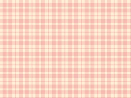 "Plaid ""Pink Beige"""