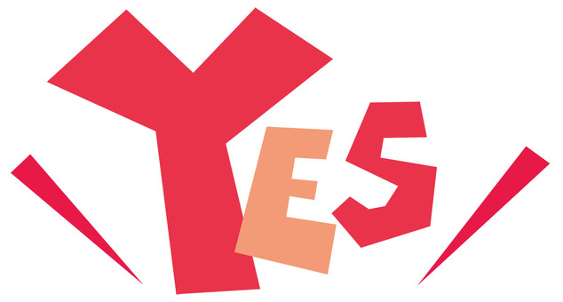 Yes ☆ YES ☆ POP logo ☆ Yes