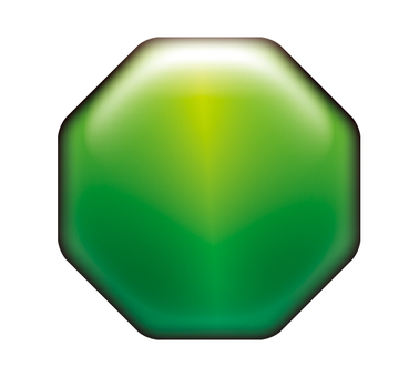 Green octagon