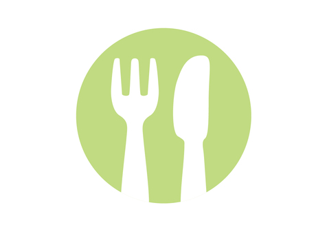 Cutlery Pict (Green)