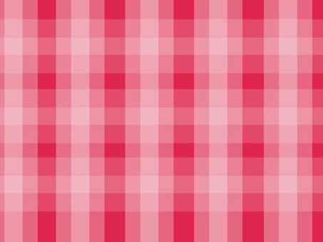 Gingham check background red