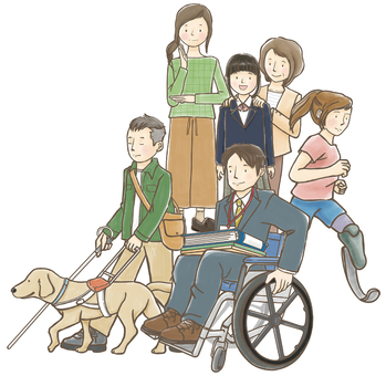 People with disabilities and society