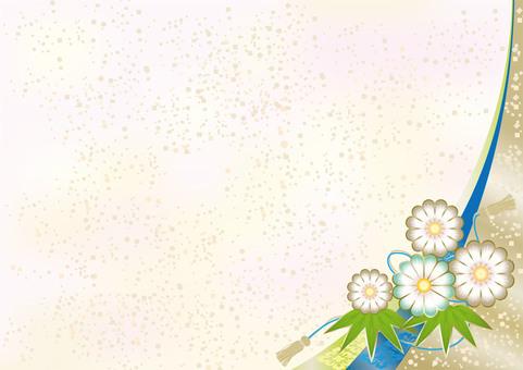 New Year's Pattern Chrysanthemum 4