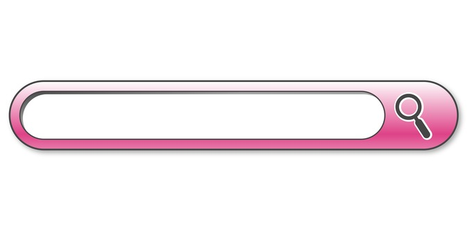 Pink search bar