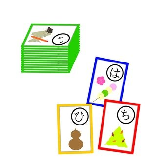 Karuta play (picture card)