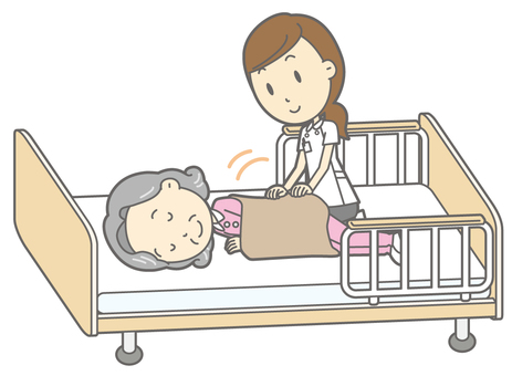 Receive a massage - Elderly 3 nursing bed