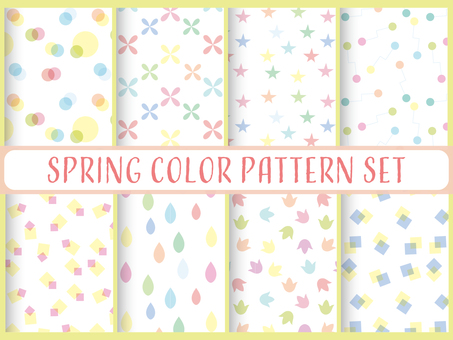 Spring color pattern 1
