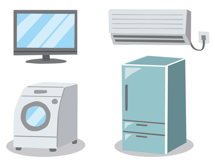 Electrical Appliances TV · Air conditioner · Washing machine · Refrigerator
