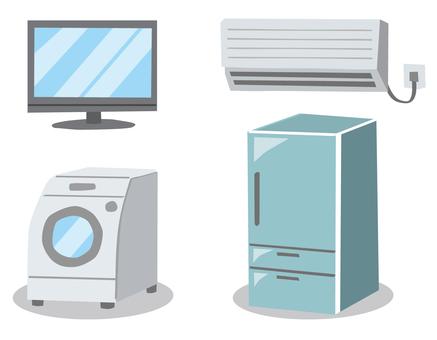 Electrical Appliances TV · Air conditioner · Washing machine · Refrigerator