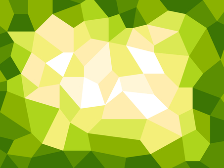 Polygonal background material / green b