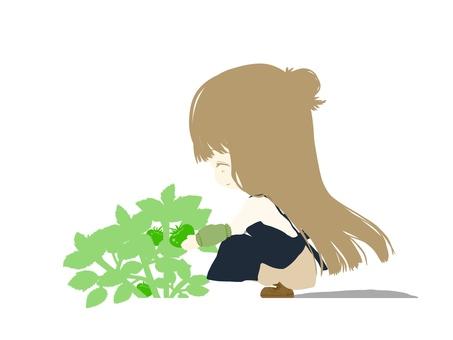 Agricultural girl
