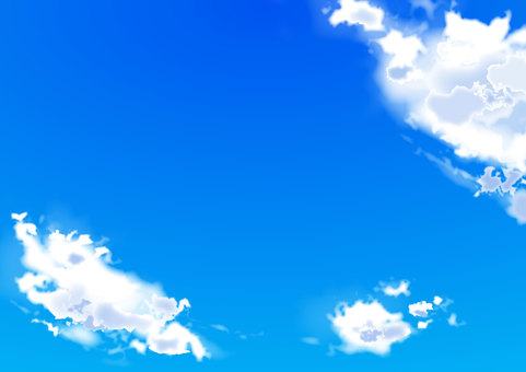 Summer sky background background cloud blue sky