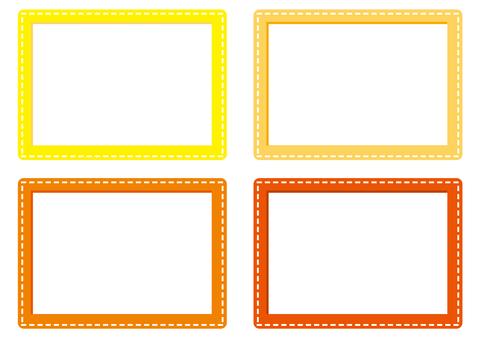 Frame - Pass case - O