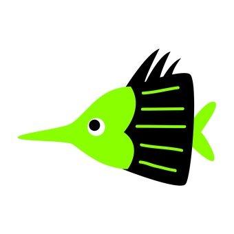 Green fish 6