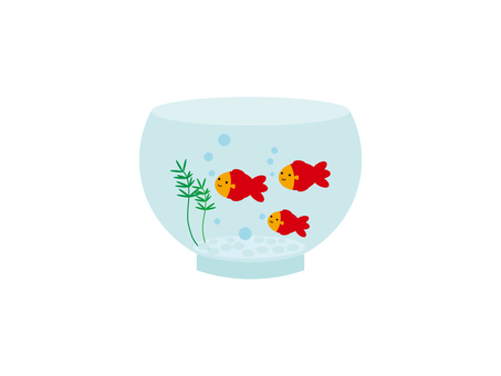 Illustration of a goldfish