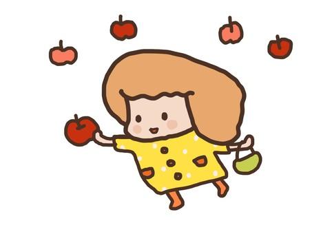 Apple hunting