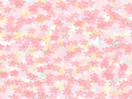 벚꽃 무늬 질감 8