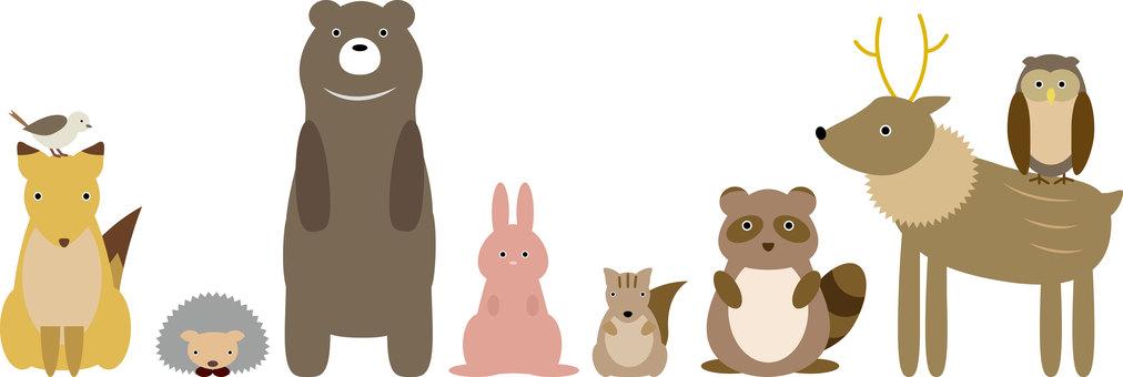 Animals 001 (forest animals)