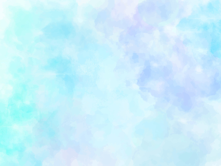 Watercolor gradient background painting (blue)