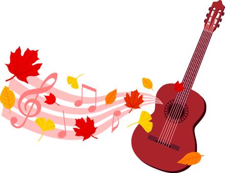 Fall guitar