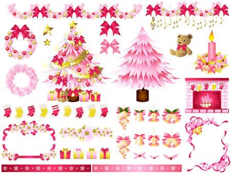 Christmas set (pink)