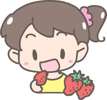 Let's eat strawberries