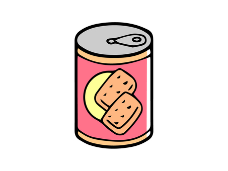 Canned canned bread