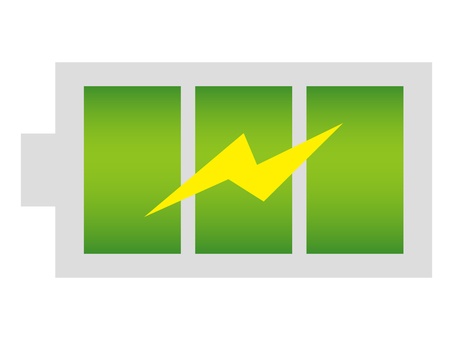充電マーク