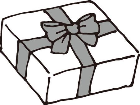 Valentine (gift 1, black and white)