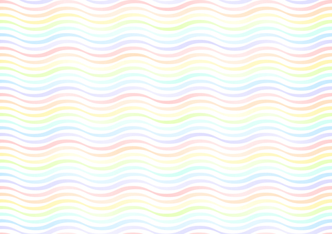 Colorful wavy pattern background