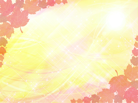 Autumn leaves background 03
