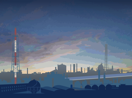 공장 풍경