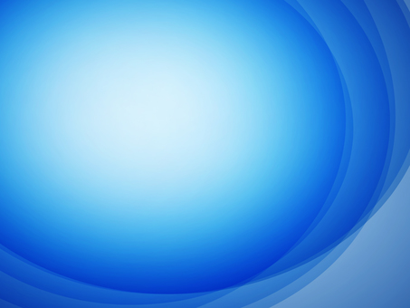Background blue round