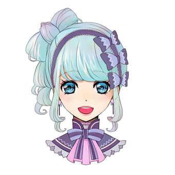 Girl icon B