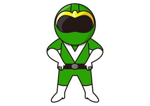 Green Ranger - Standing pose