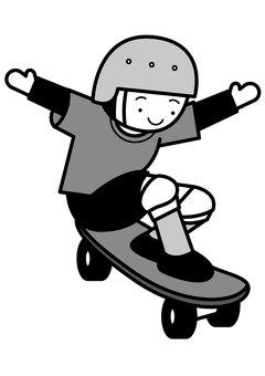 Skateboard 2c
