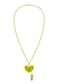 Key motif necklace