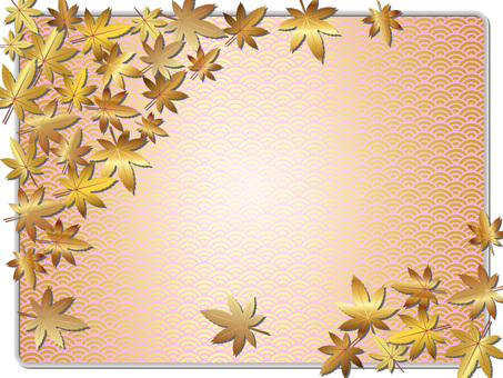 Momiji wallpaper (Japanese style) No 1