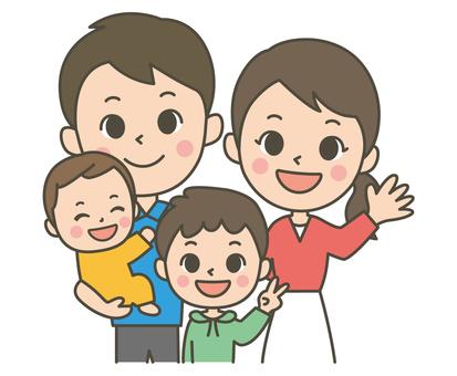 Family of four (boys)