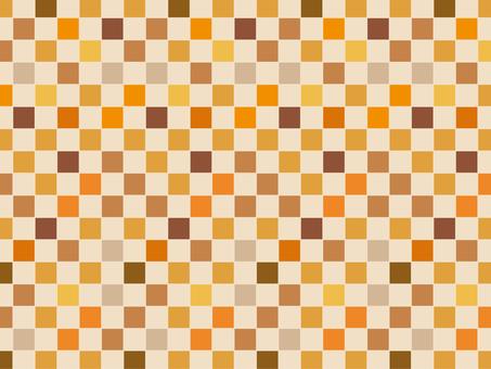 """Ichimatsu """"Orange"""""""