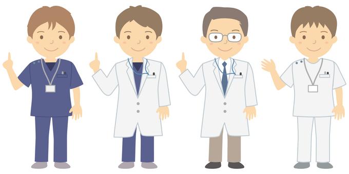 의료 자 남성