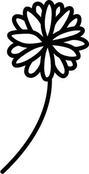 클로버의 꽃