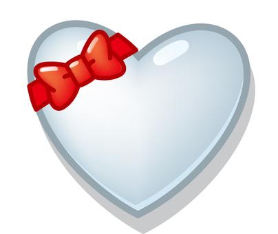 Heart ribbon 3