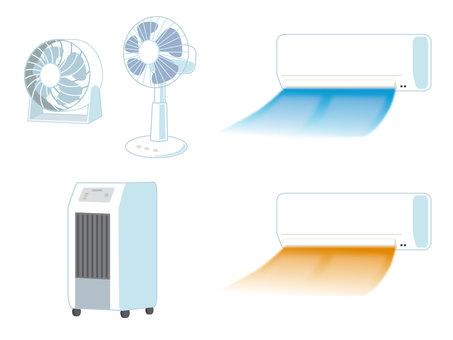 Summer home appliances set