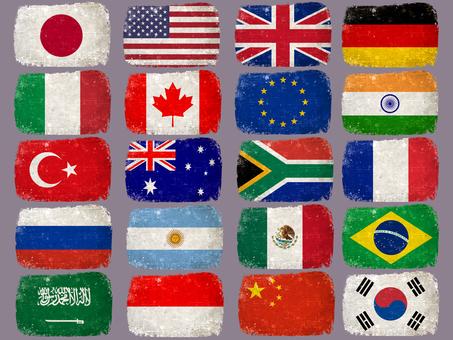 Flag G20